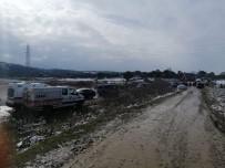 Çanakkale'de Baraj Sularına Kapılan Şahsı Arama Çalışmalarına Ara Verildi