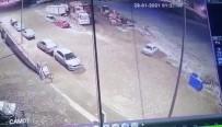 Oto Hırsızı Güvenlik Kamerasına Takıldı