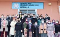 Vali Aktaş Köylü Kadınları Ziyaret Etti