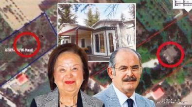 CHP'li Yılmaz Büyükerşen'in eşi Seyhan Büyükerşen adına yapılan kaçak villaya ceza! Ruhsat alınamazsa yıkılacak!