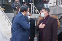 AK Parti Ağrı Milletvekili Çelebi'den,  Başkan Balcı' Ya 'Hayırlı Olsun' Ziyareti