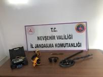 Nevşehir'de Define Avcısı 3 Kişi Yakalandı