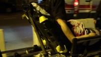 Alkol Yüzünden Çıkan Tartışmada Eşini Silahla Yaraladı