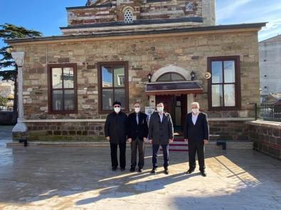 Restorasyonu Tamamlanan Tarihi Alacamustafapaşa Camii İbadete Açıldı
