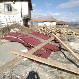 Amasya'da Şiddetli Rüzgar Çatı Uçurdu
