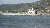 ABD Savaş Gemisi 'USNS Laramie' Çanakkale Boğazı'ndan Geçti