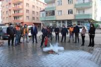 Iğdır Belediye Personeline Yangın Eğitimi