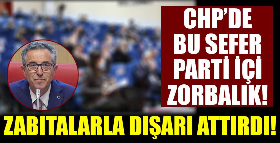 CHP'li Belediye Başkanı Halil Arda'dan zorbalık!  CHP'li Meclis üyesini dışarı attırdı!