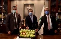 Başkan Ataç'a Çanakkale'den Ziyaret