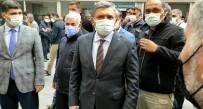 Batman Valisi Şahin Yaralıları Hastanede Ziyaret Etti