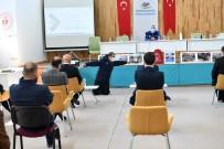 Şarkikaraağaç'ta Muhtarlara Afet Eğitimi Verildi