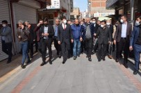 AK Parti Batman İl Başkanı Gür Esnaf Ziyaretine Devam Ediyor