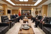 Başkan Ramazan, UNDP Suriye Programı Yöneticisi Köstem İle Bir Araya Geldi