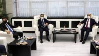 İçişleri Bakan Yardımcısı İsmail Çataklı Rektör Karacoşkun'u Tebrik Etti