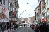 Karaman Polisinden Drone İle Korona Virüs Denetimi
