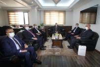 Rektörlerden Başkan Pekmezci'ye Ziyaret