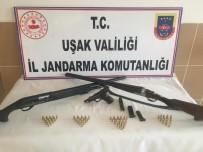Uşak'ta Silah Kaçakçısı 2 Şüpheli Gözaltına Alındı