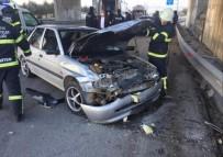 Amasya'da Zincirleme Trafik Kazasında 3 Yaralı