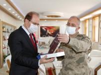 Giresun Bölge Jandarma Komutanı Tuğgeneral Erhan Demir'den Rektör Coşkun'a Ziyaret