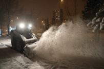 Kocasinan'da Kar, Keyfe Dönüşüyor