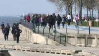 MURAT SEFA DEMİRYÜREK - İstanbul'da kısıtlamasız cumartesi yoğunluğu! Akın ettiler