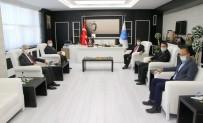 Ramazan'dan Rektör Kaacoşkun'a Hayırlı Olsun Ziyareti