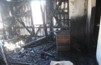 Giresun'da Çatı Katında Çıkan Yangın Korkuttu