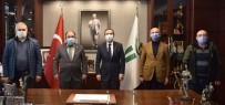 Kardeş Belediye Döğer'den Ziyaret