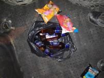 Sokağa Çıkma Yasağında Alkol Satarken Yakalandılar