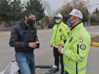 Ters Şeride Giren Bisikletli Açıklaması 'Motorlu Araç Olmayınca Ceza Yemem Bununla'