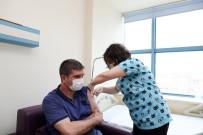 Burdur'da Toplam 59 Bin 120 Kişi Aşı Oldu