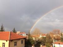 Eskişehir'de Yılın İlk Gökkuşağı Görenleri Büyüledi