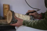 Sobada Yakacağı Odunla Sanat Öğrendi, Çeşit Çeşit Ürün Ortaya Çıkardı