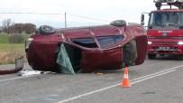 Uşak'ta Trafik Kazası; 1 Ağır Yaralı