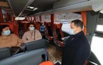 Vali Masatlı'dan Yolcu Otobüsü Ve Minibüslerde Koronavirüs Denetimi