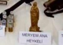 Ardahan'da 'Meryem Ana' Ve 'Artemis' Heykelleri Ele Geçirildi