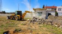 Ceylanpınar'da 44 Metruk Yapı Yıkıldı