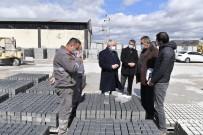 Isparta Belediyesi Begonit Taş Üretiyor