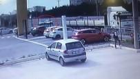 Kontrolden Çıkan Otomobil Tıra Böyle Saplandı