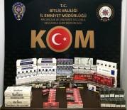 Bitlis'te 800 Paket Kaçak Sigara Ele Geçirildi