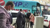 CHP Esnaf Masası, Şırnak'ta Sivil Toplum Kuruluşlarının Temsilcileriyle Görüştü
