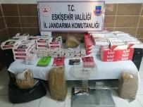 Kaçak Tütün Satan İşyerine Baskın Yapıldı