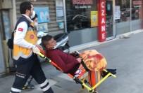 Karaman'da Bıçağın Üzerine Düştüğünü Söyleyen Şahıs Bacağından Yaralandı