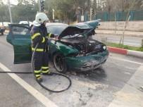 Siirt'te Dehşet Anları Açıklaması Kazaya Karışan Araçlardan Biri Alev Aldı