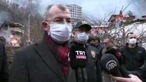 Vali Doruk Açıklaması 'Yangında 35 Bina, 60 Civarında Da Hane Zarar Gördü'