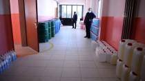Ardahan'daki Meslek Lisesi Öğrencileri Günde 1 Ton Hijyen Malzemesi Üretiyor
