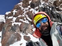 Dağcı Göktürk Şahin'in Ağrı Dağı'na Zorlu Tırmanışı