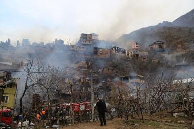 Yangın Bu Köyün Kaderi