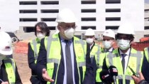 Almanya'nın Ankara Büyükelçisi Jürgen Schulz, Kilis'te Hastane İnşaatını İnceledi Açıklaması