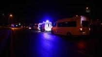 Kayseri'de Servis Minibüsü İle Otomobil Çarpıştı Açıklaması 5 Yaralı
